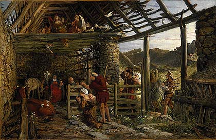 The Nativity, William Bell Scott. Courtesy National Galleries of Scotland